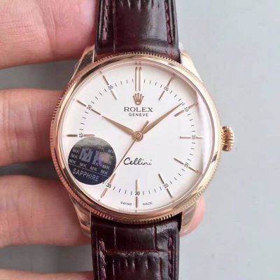 Rolex Cellini 50505 MKS Factory V4 White Dial