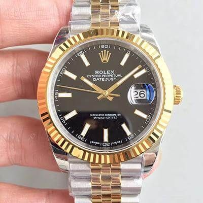 Rolex Datejust II M116333 41MM Black Dial - EW Factory