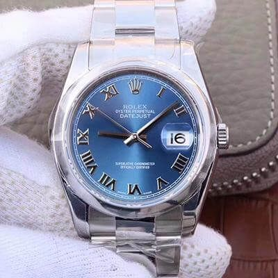 Rolex Datejust II M116334 36MM Blue Dial - AR Factory
