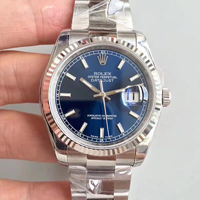 Rolex Datejust M116234 36mm Blue Dial - AR Factory V2